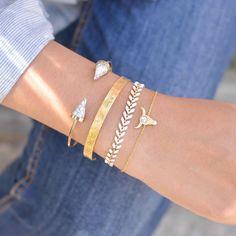 Majolie  - Juno Blanc Gold Bracelet -   - 1