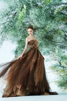 Unusual Wedding Dresses, Princess Wedding Dresses, Colored Wedding Dresses, Unique Dresses, Wedding Dress Styles, Pretty Dresses, Bridal Dresses, Wedding Gowns, Prom Dresses