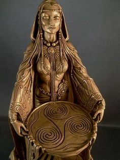 Celtic Goddess Danu (Also known as Anu)