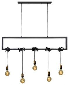 Ren-Wil Madeira Ceiling Fixture - Industrial - Kitchen Island Lighting - by VirVentures Ceiling Fixtures, Fixture Industrial, Light, Black Kitchens, Lantern Lights, Kitchen Island Pendants, Kitchen Styling, Vintage Edison Bulbs, Trendy Kitchen