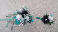 Prom Corsage made by Gallery Florist and Gifts, Inc. in Mebane, NC. www.galleryfloristandgifts.com
