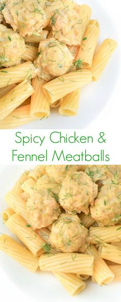 Spicy Chicken and Fennel Meatballs - The Lemon Bowl