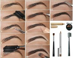 How to have perfect eyebrows.