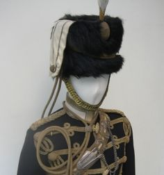 Uniform of the 13th hussars, belonged to J.G. Rees, was commissioned 2nd Lieutenant into the 13th Hussars in 1904, and served as Adjutant of the Regiment before retiring to the Reserve of Officers in 1913.