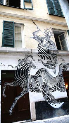unusual street art   Unusual Street Art // Unique Murals from ...   Urban Graffiti & Stree ...