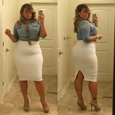 Laura Lee... plus size fashion... Wish I was this confident!