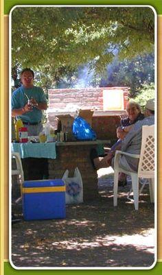 Cabañas Camping Carhue - Carhue, Bs. As., Argentina - Camping con salida a la playa del lago Epecuen