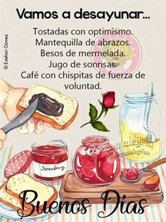 Healthy Meals For Two, Healthy Foods To Eat, Healthy Dinner Recipes, Good Morning Good Night, Good Morning Quotes, Morning Thoughts, Morning Morning, R Cafe, Buenos Dias Quotes