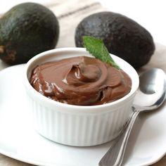 avocado-chocolate pudding | forgiving martha