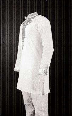 Nigeria Ankara Fashion Styles:Cute Embroidered Native Design For Men - Debonke House Of Fashion