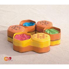Weplay, Honey Hills, Spielsteine für Kindergarten und Therapie, Wahrnehmungstraining | KT0016 / EAN:260197679526