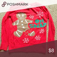 Christmas sweater gingerbread man Gingerbread man sweater lol vintage Sweaters Crew & Scoop Necks
