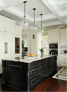 Elegant and airy, the glass lighting trend provides unique visual interest to any space, whether in the form of a statement fixture or small pendant.