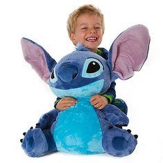 Disney Store Large Plush Stuffed Animal Toy -- STITCH (18'' H seated) by Disney, http://www.amazon.com/dp/B00671JP16/ref=cm_sw_r_pi_dp_xeH8pb1K6AWTA