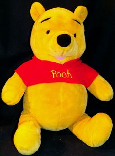 Disney Fisher Price Large I Talk Talking Winnie the Pooh Rumbly Tumbly Pooh 28in #Disney
