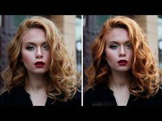 How to Really Make Hair Pop by Adding Shine, Color, and Volume in Photoshop Photoshop Face, Photoshop Youtube, Photoshop Tutorial, Photoshop Actions, Photoshop For Photographers, Photoshop Photography, Photography Tips, Shops, How To Make Hair
