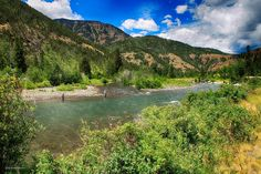 Shoshone River canyon east of Yellowstone, Wyoming
