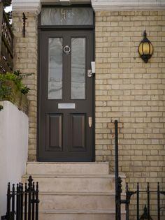 London Doors, Front Door, Contemporary Door, Wooden Door | Casas e ...