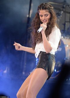 Selena Gomez looks stunning as she performs at the Hammersmith Apollo