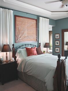 Blue Painted Rooms Design, Pictures, Remodel, Decor and Ideas - page 50