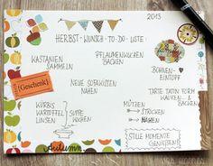 Herbst Wunsch - Liste   waseigenes.com