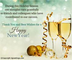 Send this warm business greeting this New Year and wish a happy and fulfilling 2015.