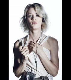 Mackenzie Davis in a portrait for AMCs Halt and Catch Fire Season 2 (premieres May 31st at 10pm ET/PT)