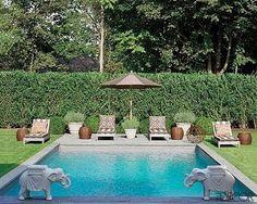 english garden pool