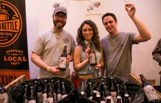 Pagosa & Rockyard pouring at Collab Fest (Photo © Imbibe)
