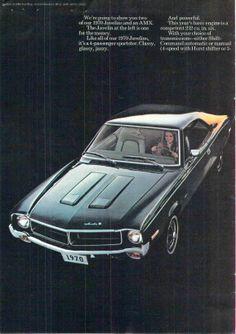 1970 AMC Consumer Brochure