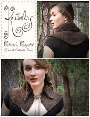 Outlander Pattern for Claire's Capelet – Knitterly