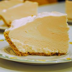 Pink Lemonade Pie recipe:    1 pint vanilla ice cream  2 cups whipping cream (you can substitute Cool Whip or similar)  1/4 cup pink lemonade powder mix (such as Country Time)  1/4 cup water  1 graham cracker crust