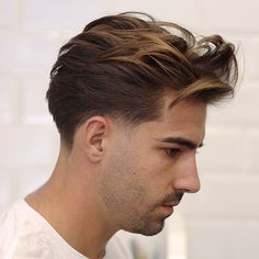 Long Flowing Natural Hairstyle + Low Taper - Best Men's Hairstyles: Cool Haircuts For Men. Most Popular Short, Medium and Long Hairstyles For Guys Cool Haircuts, Hairstyles Haircuts, Haircuts For Men, Cool Hairstyles, Hairstyle Ideas, Modern Hairstyles, Japanese Hairstyles, Asian Hairstyles, Mens Longer Hairstyles