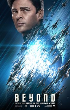 The official Star Trek Beyond IMAX poster has been released online and features the USS Enterprise boldly going where no one has gone before. Star Trek 2009, New Star Trek, Star Trek Tos, Star Trek Beyond Movie, Star Trek Movies, Cult Movies, Star Trek Into Darkness, Zachary Quinto, Karl Urban