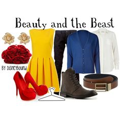 Hallowen Costume Couples Disney Bound beauty and the beast Winner: Beauty and the Beast Nominated: Be Our Guest Nominated: Belle Robes Disney, Disney Couples, Disney Dresses, Disney Outfits, Walt Disney, Disney Clothes, Disney Costumes, Disney Cute, Disney Style