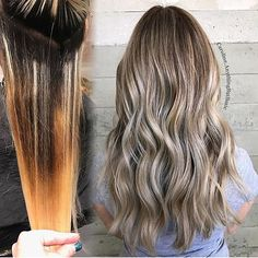 Before and After Color Correction Hair saved by @caroline.anythingbutbasic #hair #hairenvy #hairstyles #haircolor #colorcorrection #beforeandafter #makeover #blonde #newandnow #inspiration #maneinterest