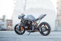 The Outlaw: Suzuki Bandit 600 cafe racer