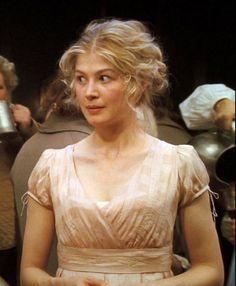 Rosamund Pike, Jane Bennet - Pride  Prejudice (2005) #janeausten #joewright