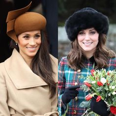 """The Duchess of Cambridge and Meghan Markle attended Christmas Day celebrations and Sandringham…"""""""