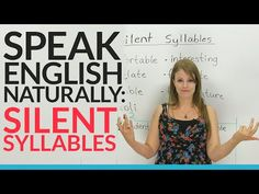 Silent Letters: When NOT to pronounce B, D, and L in English - YouTube