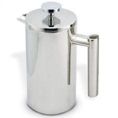 Cafetière à piston 1.0 litre avec double paroi de Cuisinox Modèle: COF11  http://411buyitnow.com/fr/cafetiere-a-piston-1-0-litre-avec-double-paroi-cof11-de-cuisinox.html