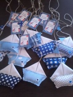 20 Ideas For Baby Shower Varon Souvenirs Baby Shawer, Baby Birth, Boy Baby Shower Themes, Baby Boy Shower, Baby Shower Marinero, Felt Crafts, Diy And Crafts, Baby Shower Souvenirs, Shower Bebe