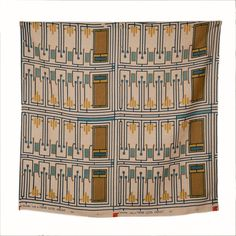 Design 105, A Frank Lloyd Wright Taliesin Line Fabric