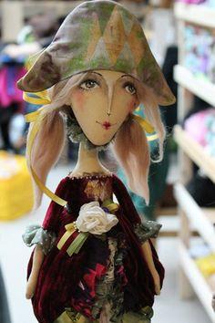 текстильная кукла,ручная работа Юлии Старовойтовой