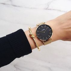 Gold on black on gold.