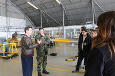 Visita dos estudantes da Licenciatura em Engenharia Mecânica (Ramo Aeronáutica) à Base Aérea n.º 1 (BA1, Sintra) | 07 fev'14