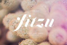 Schrift   Free Font {Jitzu}