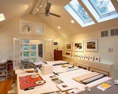 Home Office Photos Craft Room Design Ideas, Pictures, Remodel, and Decor - page 25