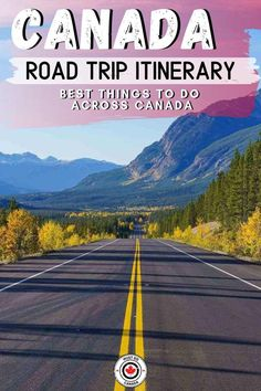 Planning the ultimate Canada road trip? Here's our itinerary for a road . - Planning the ultimate Canada road trip? Here's our itinerary for a road trip across Canad - Road Trip Map, Road Trip Destinations, Road Trip Hacks, Road Trips, Sea To Sky Highway, Ways To Travel, Travel Tips, Travel Ideas, Day Schedule