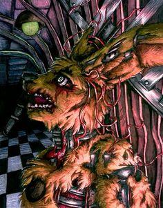 Springtrap's whimper / FNaF 3 by Mizuki-T-A.deviantart.com on @DeviantArt